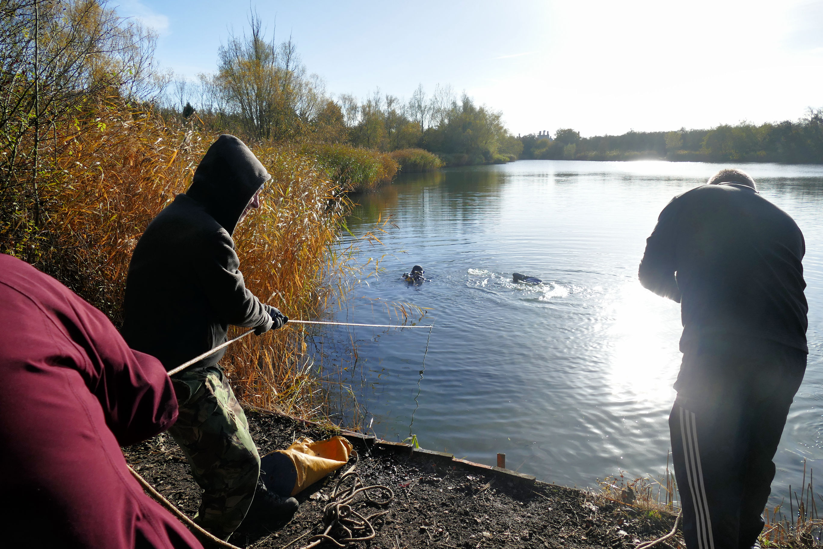 Shefford Fishing Lake Obstruction Survey